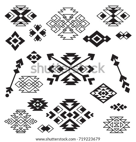 vector tribal design elements