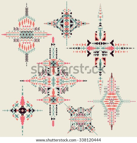vector tribal ethnic ornament....