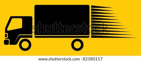 Vector truck icon