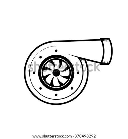vector turbo icon