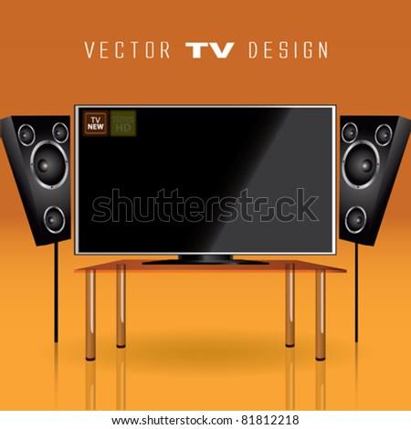 Vector Tv Design