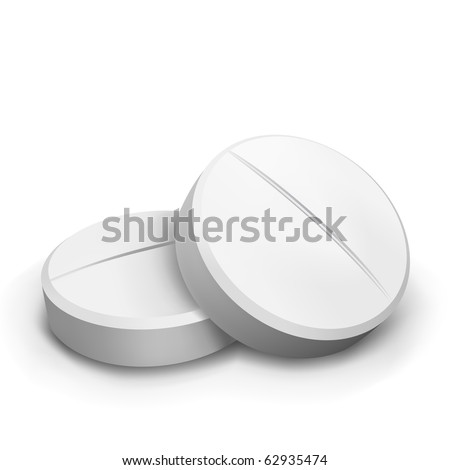 vector two pills