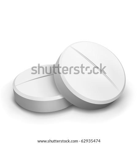 vector two pills