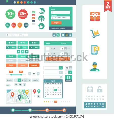 UI and elements
