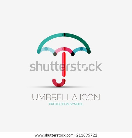 vector umbrella  protection