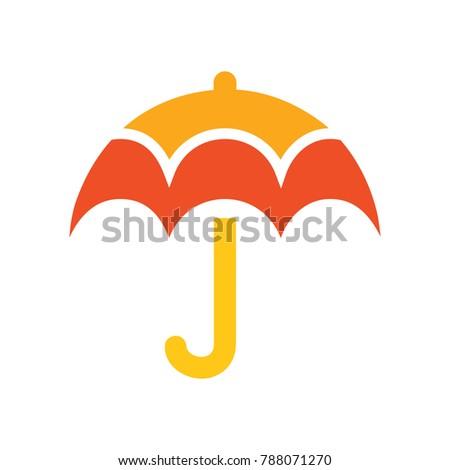 vector umbrella - protection symbol