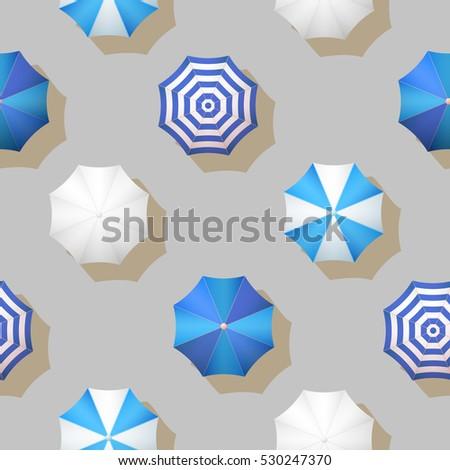 vector umbrellas autumn weather ...