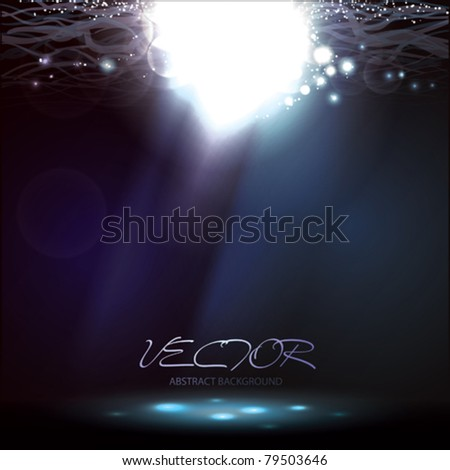 Vector. Underwater Background