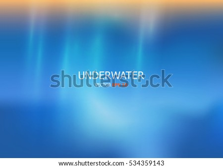 stock-vector-vector-underwater-background-with-wave-lights-blue-color-background