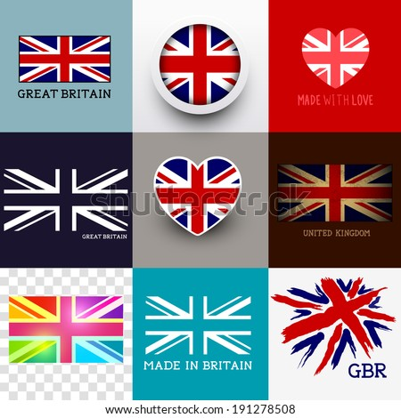 vector union jack collection