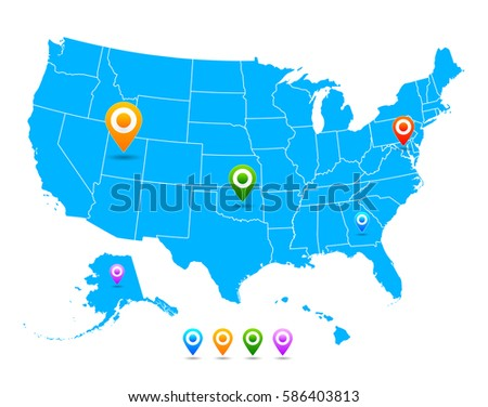 North America Map Vector Download Free Vector Art Stock - Overlay of alaska on us map