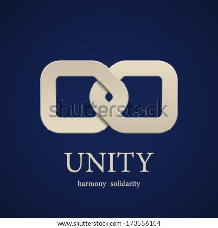 vector unity symbol design