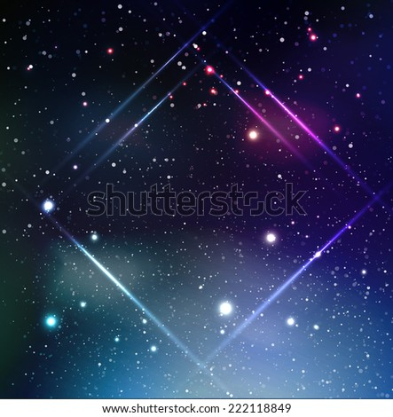 vector universe background for