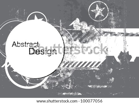 vector urban grungy abstract background design