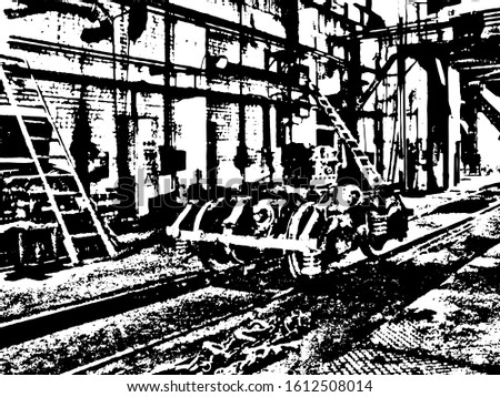 vector urban monochrome