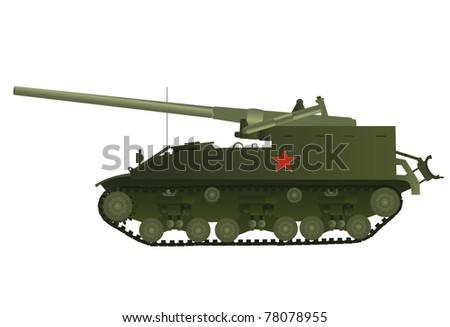vector usa flag self propelled