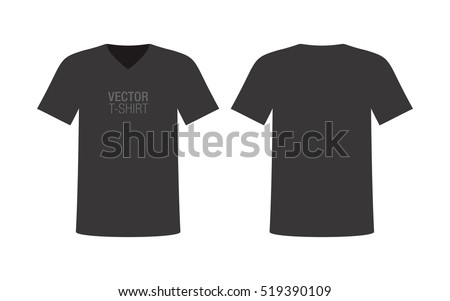 Tshirt Vector: Black Shirt - Download Free Vector Art, Stock ...