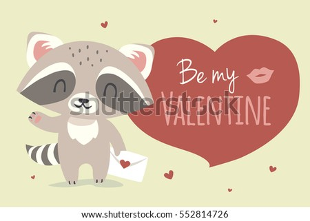 vector valentine's day greeting