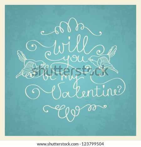 vector valentine's day love