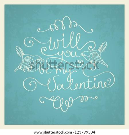 vector valentine's day love