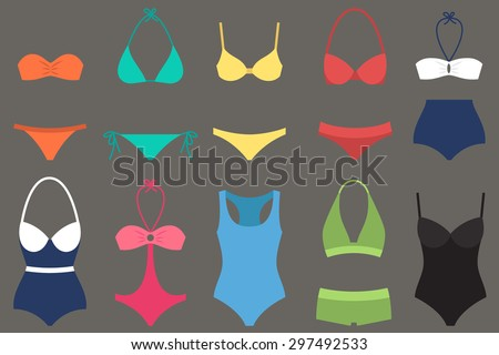 vector various types of woman