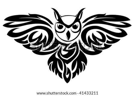stock-vector-vector-version-black-owl-sy