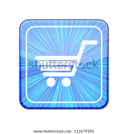 Vector version. Shopping icon. Eps 10 illustration