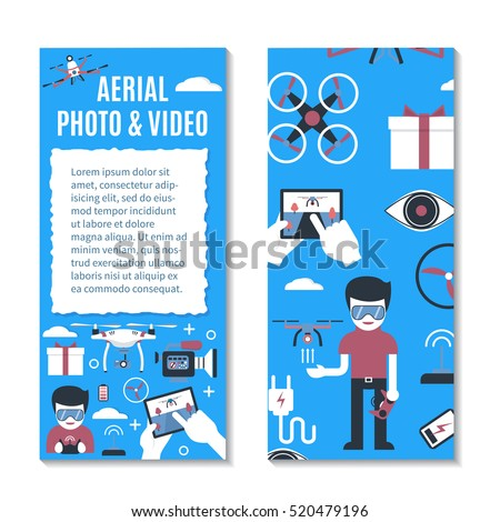 vector vertical banner or flyer