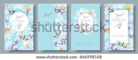 vector vertical banners set