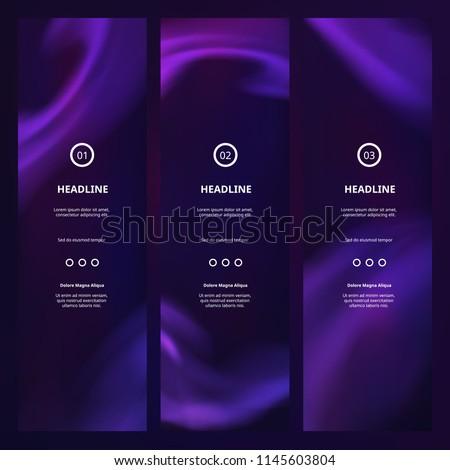 vector vertical purple