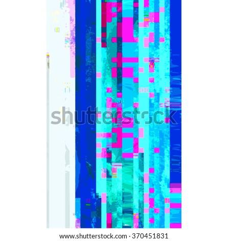 vector vibrant cyan blue colors