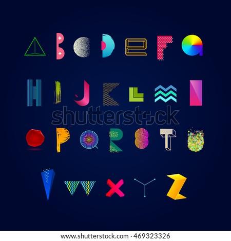 vector vibrant multicolored