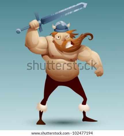 vector viking warrior 4