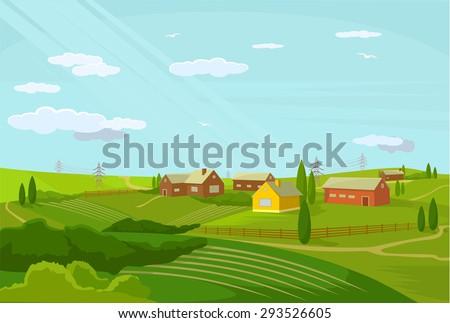 vector village flat