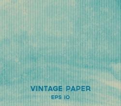 Vector vintage blue paper background