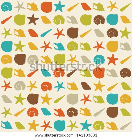 vector vintage colors pattern