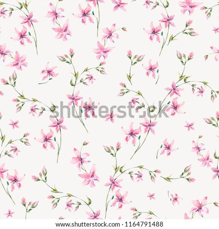 vector vintage floral seamless