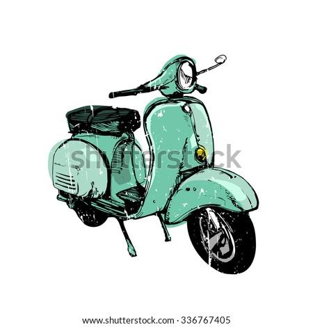 vector vintage illustration
