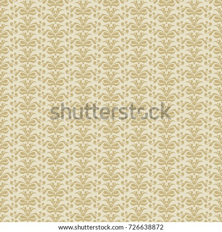 Vector Vintage Pattern Design, Arabic and Islamic Background