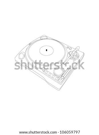 vector vinyl player