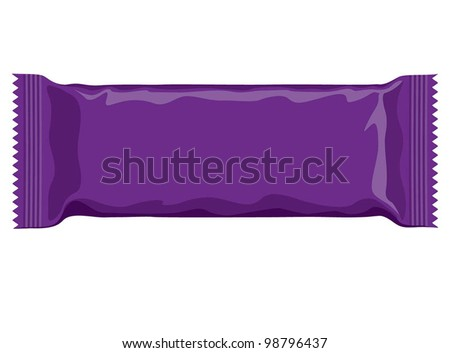 vector visual of purple flow