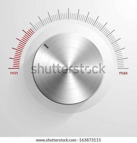 Vector volume knob. Stock photo ©