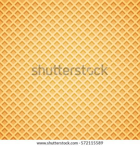 Vector Waffle Background. Vector Illustration. Сток-фото ©