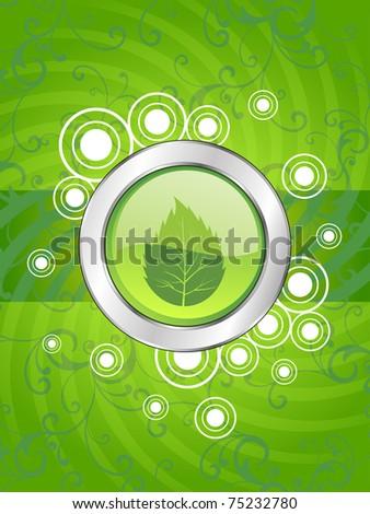 vector wallpaper for go green