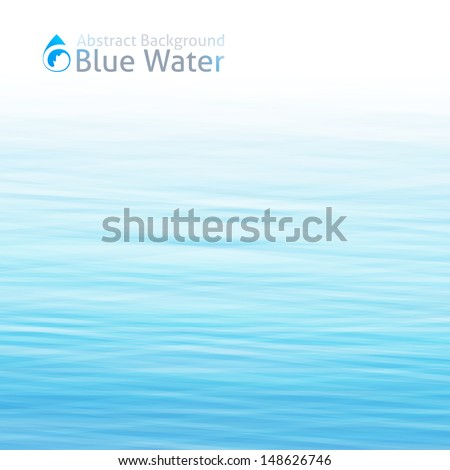 vector water background with