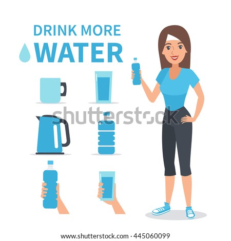 vector water infographic