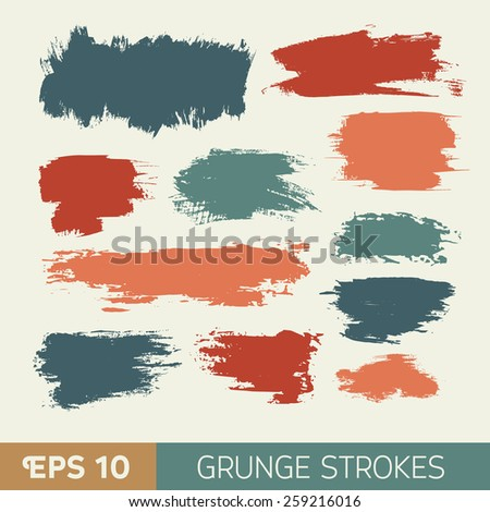 vector watercolor  grunge ink