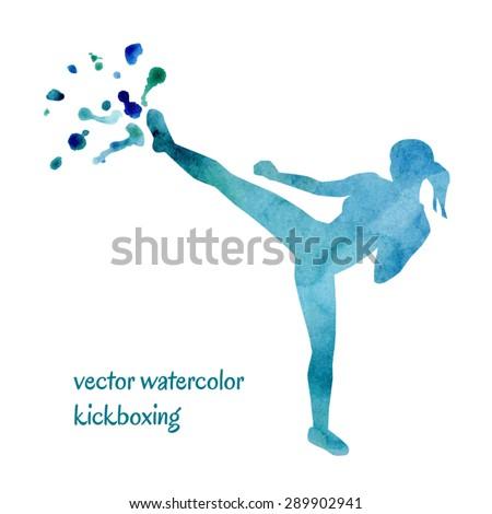 vector watercolor illustration