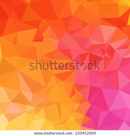 vector watercolor orange yellow