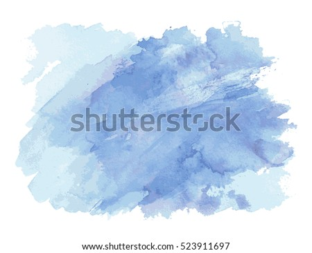 stock vector vector watercolor splash texture background isolated hand drawn blob spot watercolor effects 523911697 - Каталог — Фотообои «Текстуры»
